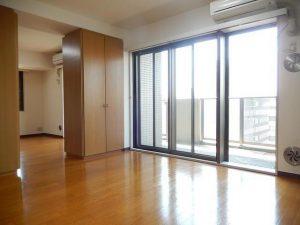 朝日上野マンション1112_リビング01