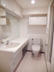 朝日上野マンション1112_洗面、トイレ