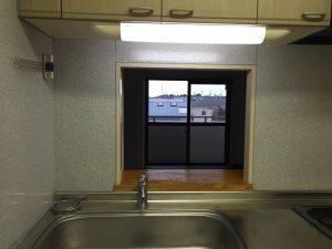 ネコール305_キッチン窓