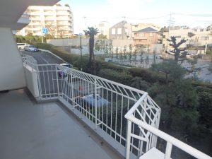 横浜山手センチュリーマンション 204_バルコニー