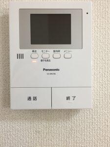 TVモニタ付インターホン