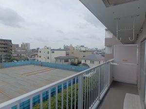 CASSIA柏 404_バルコニーからの眺望